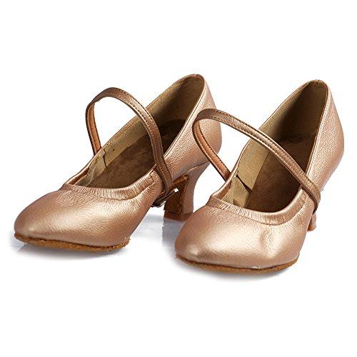 Zapatillas latinos baile YKXLM de de sal Mujeres de a baile Zapatos amp;Ni xqxR0g4I