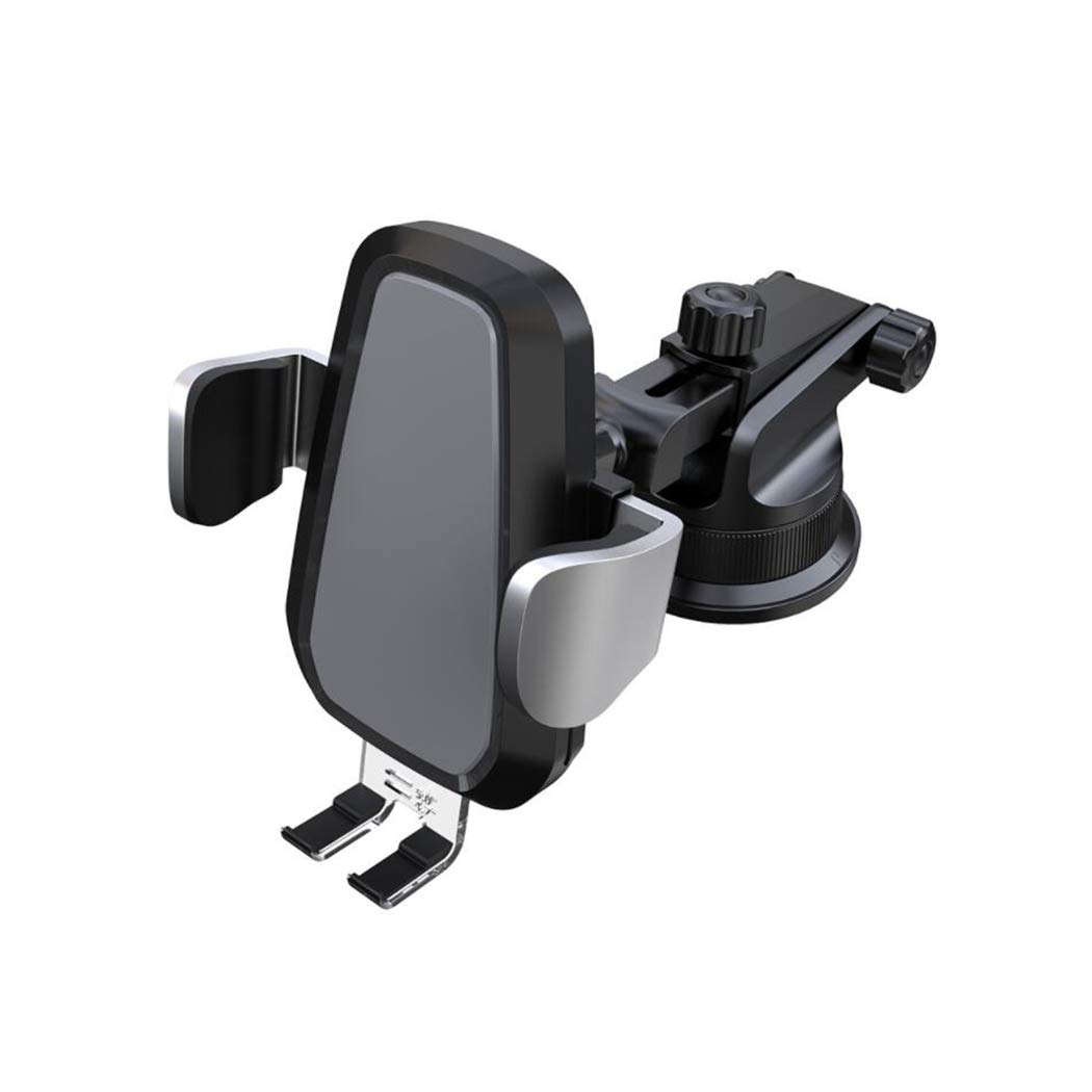 XSPUS Wireless Car Charger Mount, Automatic Clamping Qi 10W 7.5W Fast Charger Car Mount, [Upgrade] Windshield Dashboard [Air Vent] Phone Charging Holder Compatible iPhone Xs Max XR 8, Samsung S10 S9S8 by XSPUS