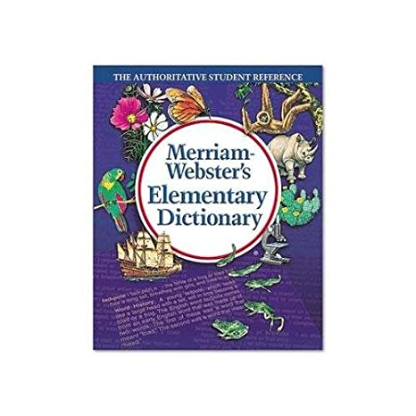Amazon Merriam Webster Elementary Dictionary Grades 2 4