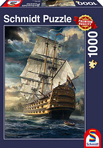(Schmidt Sails-Set Jigsaw Puzzle, 1000-Piece)