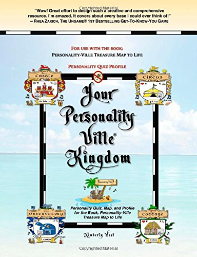 Your Personality-Ville Kingdom: Personality Quiz, Map, and Profile for the Book, Personality-Ville Treasure Map to Life (Club - Quiz Unique Personality