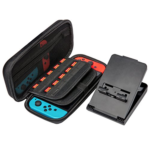 Nintendo Switch Case and Stand, Otium Carry Case with 20 Ga
