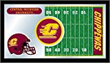 NCAA Central Michigan Chippewas 15 x 26-Inch Football Mirror