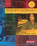 With Rigor for All, Second Edition, Carol Jago, 0325042101