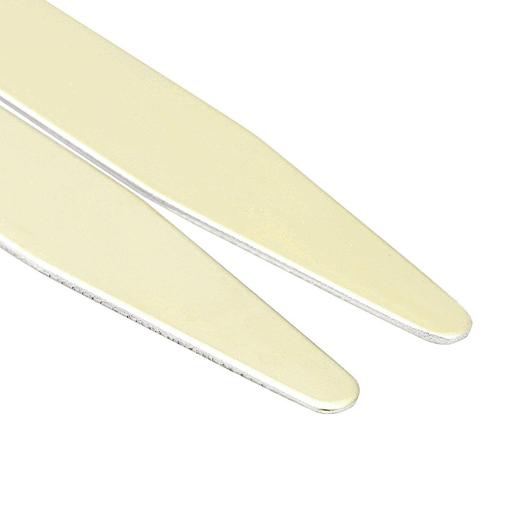 JOVIVI 6pcs Stainless Steel Collar Stays For Mens Dress Shirt 2.2,2.5,2.75 3 Sizes Set