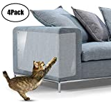 biwiti Furniture Scratch Guards, Cat Scratch Protector Self-Adhesive Couch Guards for Sofa Table