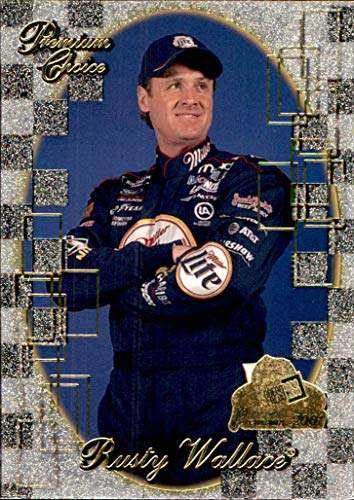 2001 NASCAR Press Pass Premium #81 Rusty Wallace