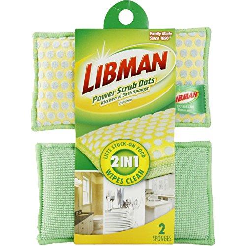 Libman 336 2-in-1 Scrubbing Sponge (Good Side Dishes For Halloween)
