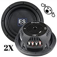 2 NEW American Bass ES1244 12 Inch 4 Ohm 3000W MAX Dual CAR SUBWOOFERS PAIR