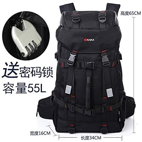 YZBB  super kapazität Reisetasche, männer Rucksack, Outdoor-Freizeit Multifunktions bergsteigenbeutel gepäcktasche