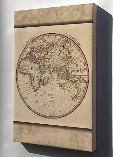 Canvas 16x24; Map Of Eastern Hemisphere Of World 1817