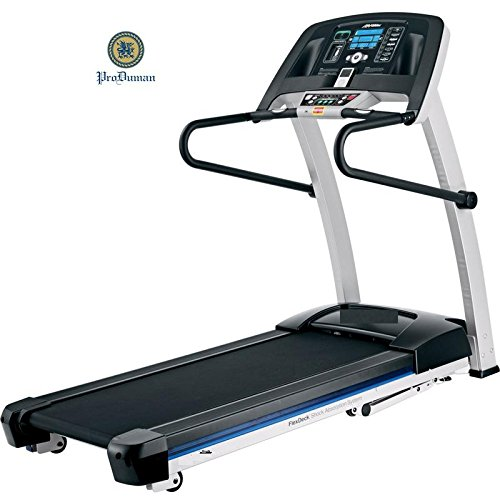 Produman exercise & equipment Home gym Exercise Machine - Electric Motorized Treadmill with Downloadable Sports App for Running & Walking.