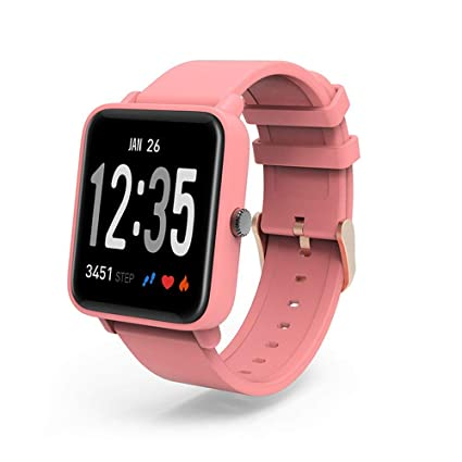 Amazon.com: Leegoal D10 Smart Watch for Fitbit Versa Color ...