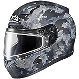 HJC CL-17 Void Snow Helmet with Dual Lens Shield (MC-5F, X-Large) XF-10-1151-1835-07