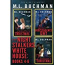 The Night Stalkers White House: Books 4-6 (Volume 8)