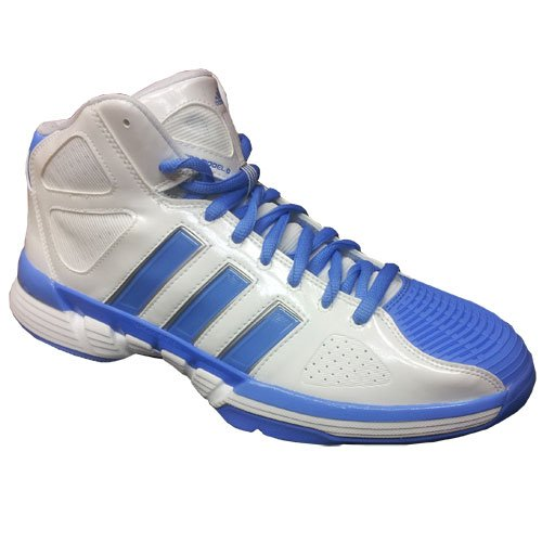 Modello Adidas Pro 0 Wht / Blu Da Running Bianco / Azzurro