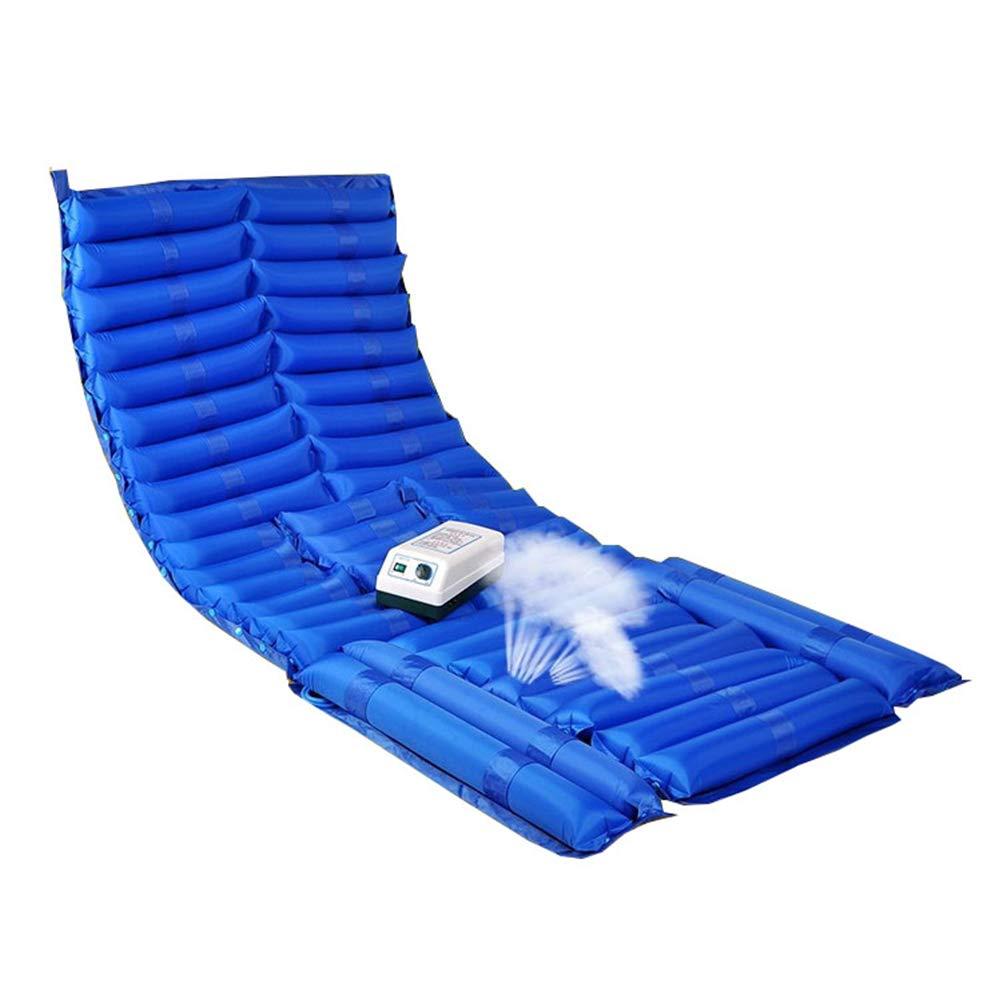 Dbtxwd Anti-Bedsore Inflatable Mattress- Alternating Air Pressure Mattress for Anti Bedsore Prevent Decubitus Treatment Pain Relief, 200 90 cm