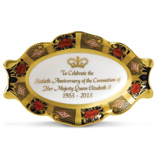 ROYAL CROWN DERBY -CORONATION SILVER TRAY - LIMITED EDITION 500 WORLDWIDE - BNIB (Collectibles Royal Crown Derby)