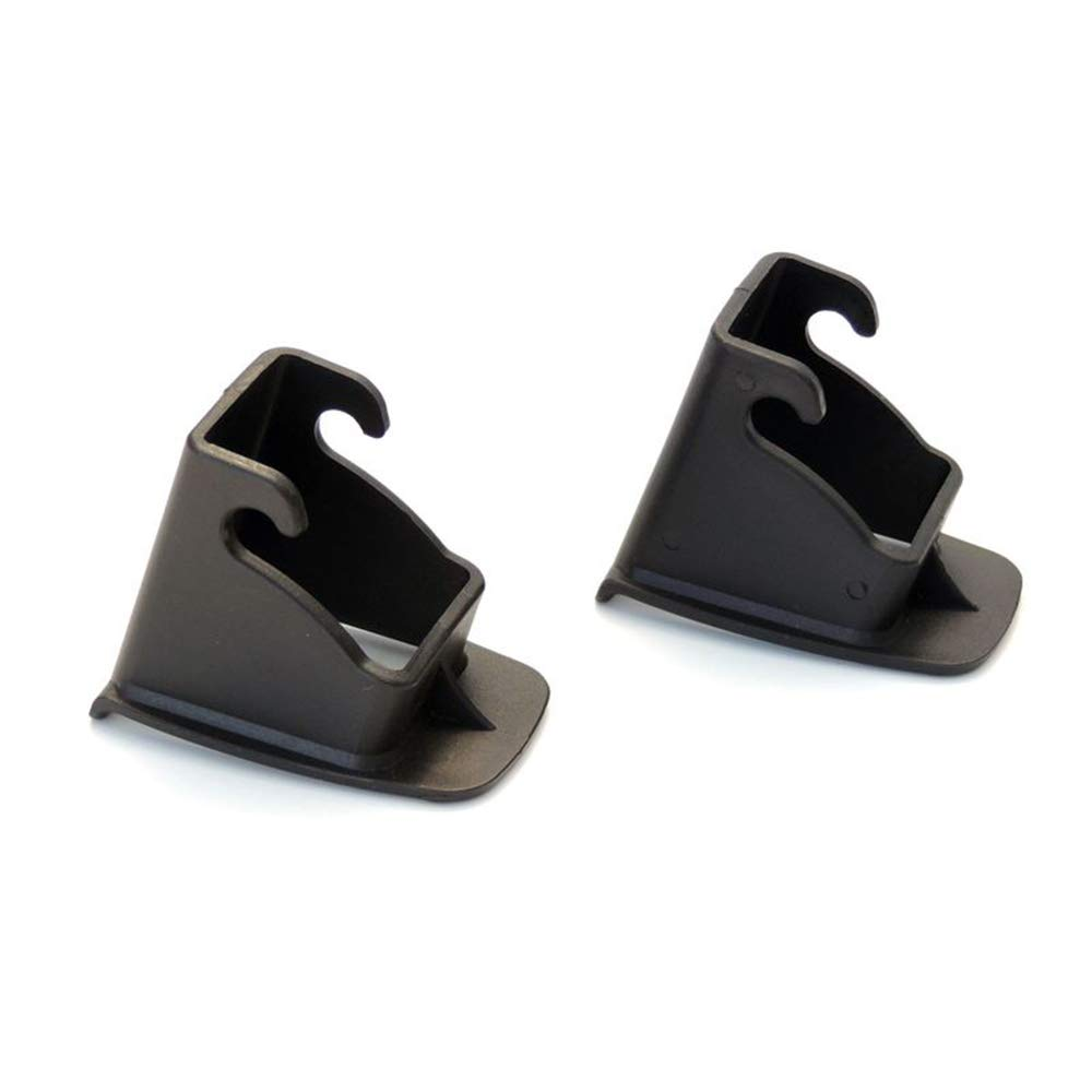 Xeminor Child Car Safety Seat Interface Buckle Fixed Guide Groove 2 Pcs Black by Xeminor (Image #2)