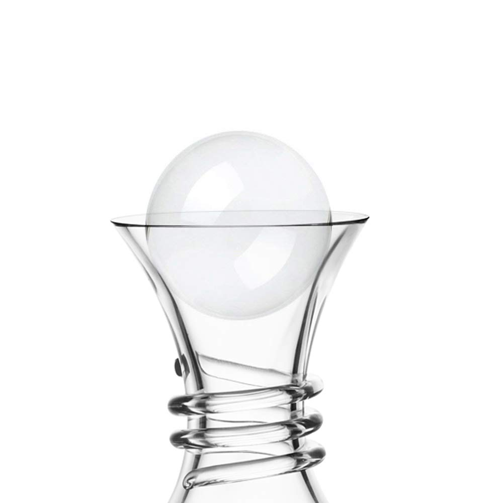 Soing Clear Crystal 2.5 Inches Wine Decanter Stopper Crystal Ball