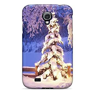 Galaxy S4 Beautiful Winter Night1 Print High Quality Tpu Gel Frame Case Cover