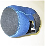 Kufa Sports Fishing Reel Cover Made by 4mm Thickness Neoprene for Spinning Reel, Bait Casting, Low Profile &am