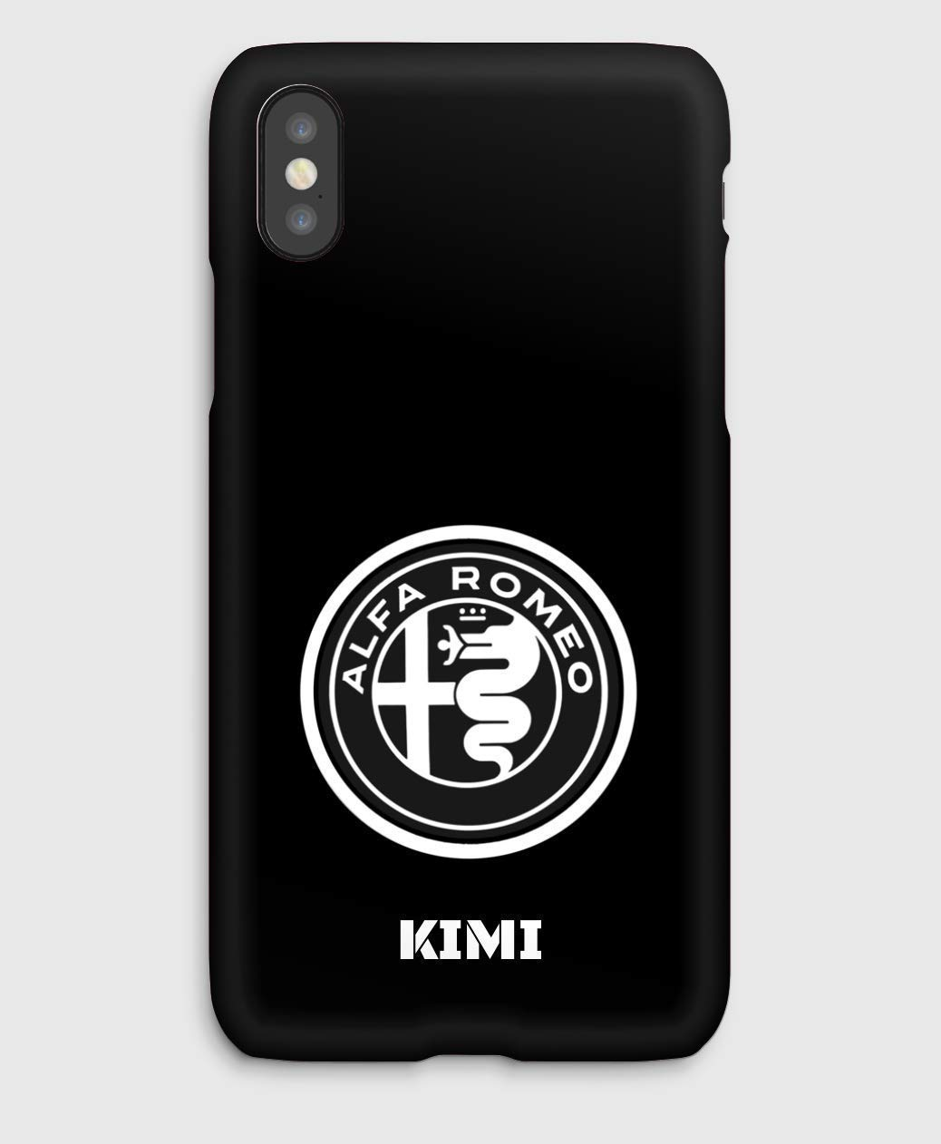 Kimi F1 Sauber Alfa Romeo cover iPhone XS, XS Max, XR, X, 8, 8+, 7, 7+, 6S, 6, 6S+, 6+, 5C, 5, 5S, 5SE, 4S, 4,