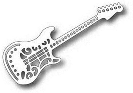 Troqueles de corte de metal para guitarra, 2019, para álbumes de ...