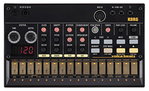 Korg, 16-Key Synthesizer (VOLCABEATS)