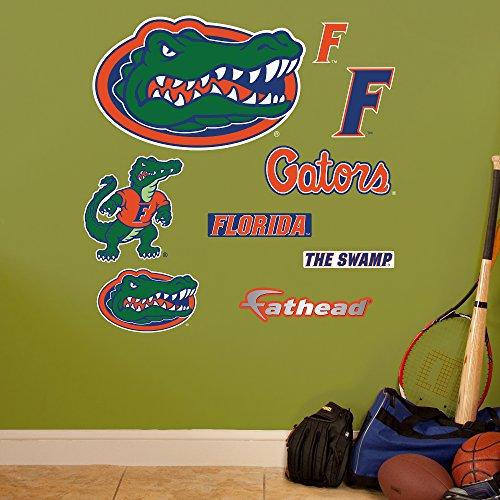 "NCAA Florida Gators Team Logo Assortment Fathead Junior Wall Decals, 24""W x 39""H"