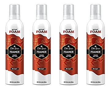 Old Spice Red Zone Swagger Scent Foamer Body Wash for Men, 10 3 Fluid Ounce  (Pack of 4)