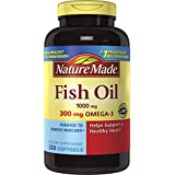 Nature Made Fish Oil 1000 mg w. Omega-3 300 mg, 320 Softgels