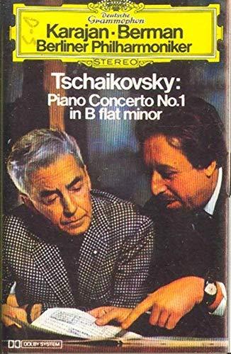 BERLIN PHILHARMONIC ORCHESTRA: Tchaikovsky - Piano Concerto No. 1 in B Flat Minor Cassette Tape