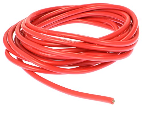 Discount Apex RC Products 10' Red 14 Gauge Super Flexible High Strand Battery/Motor Silicone Insulated Copper Wire #1150 supplier
