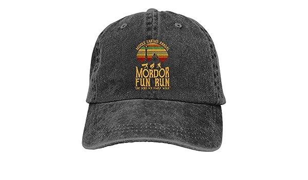 NINGFEI Mordor Fun Run Gorras de béisbol Ajustables, Estilo ...
