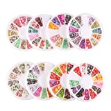 #5: DECORA 8 Cases of Fruit Cake Flower Animal Slices Perfect for Sticking to Slime, DIY Crafts, Nail Art and Decoration