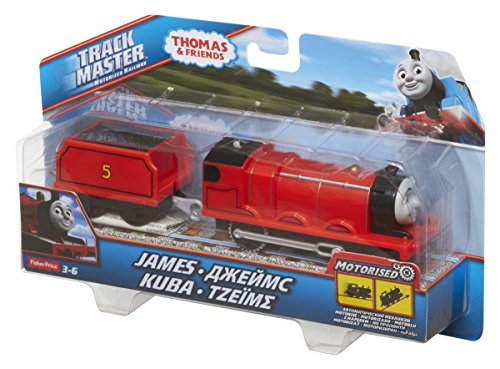 Trackmaster james tender car motorized train engine for Fisher price motorized cars