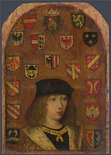 'Pieter Van Coninxloo-Philip The Handsome,1493-5' Oil Painting, 18x25