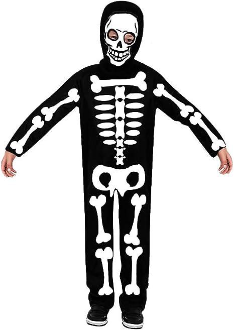 Halloween Kostuem Skelett Amazon.Sibosun Halloween Kostum Skeleton Kleidung Mit Maske Party Cosplay Maskerade Halloween Lustige Dekoration Amazon De Haustier