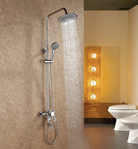 OLQMY-Bathroom preferredThe Copper Shower Kit With Handheld Shower ...