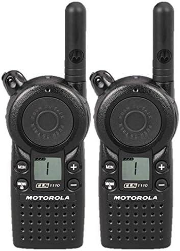 2 Pack of Motorola CLS1110 Two Way Radio Walkie Talkies UHF