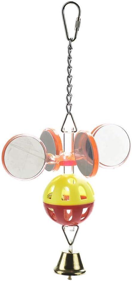 Disco Mirrors Enrichment Parrot Toy