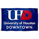 Houston Downtown Gators Wordmark Flag