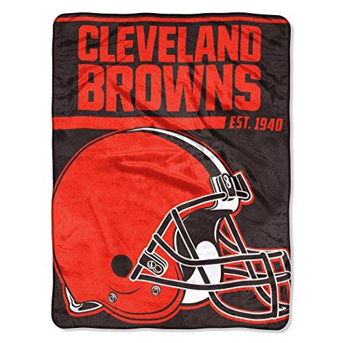 NFL Cleveland Browns 40 Yard Dash Micro Raschel Throw, 46