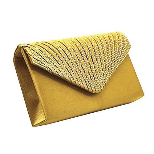 Borsa mano a Size One Borsa Gold Kugin da donna HHpqr