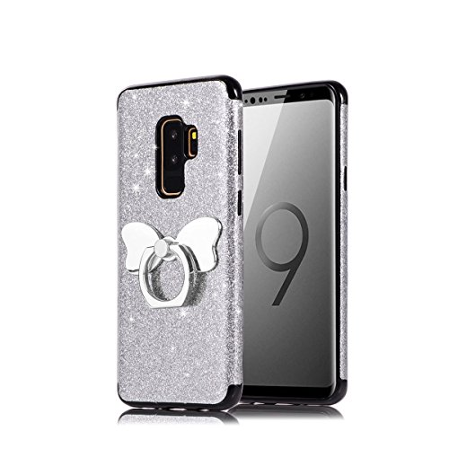 AICEDA Samsung Galaxy S9 Case, Series Samsung Galaxy S9 Cover, Series Impact Resistant Durable Phone Cover for Samsung Galaxy S9 (Silver)