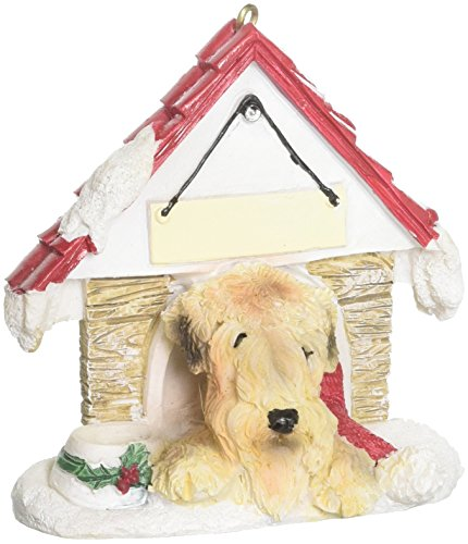E&S Pets 35355-41 Doghouse Ornament (Wheaten Ornament Terrier)