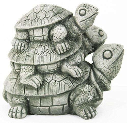 Turtles Stack Concrete Statue Tortoise Garden Sculpture (Stack Turtle)