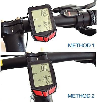 Ordenador de bicicleta – iregro inalámbrico impermeable para ...