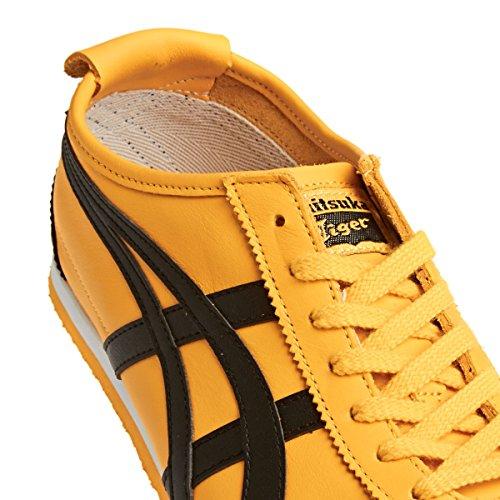black Ginnastica Adulto DL408 da 0490 Scarpe Unisex Sneakers Asics 66 Basse yellow Mexico XxvHwqUaUn